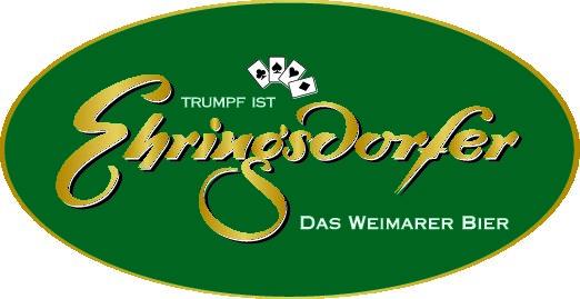 Trumpf ist Ehringsdorfer - Das Weimarer Bier